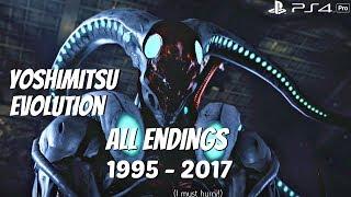 TEKKEN SERIES - All Yoshimitsu Character Ending Movies 1995 - 2017 (1080p 60fps)