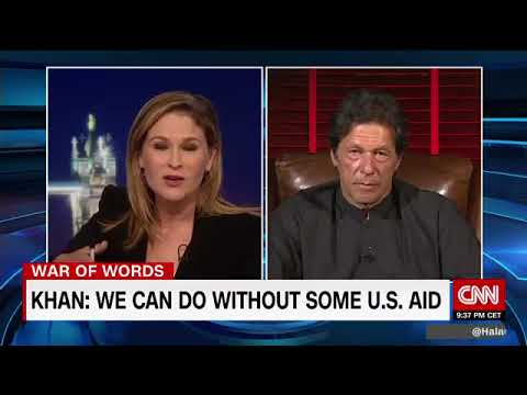 Imran Khans Interview With Hala Gorani at CNN On Trumps Statement on 24 08 2017- Video Courtesy CNN