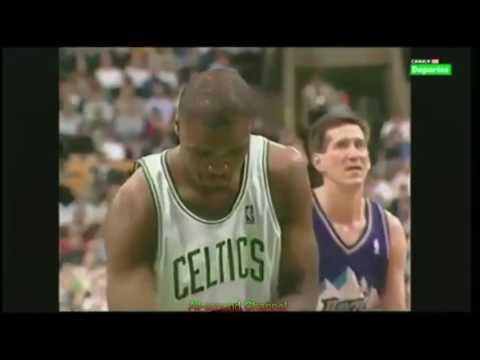 NBA Duels: Antoine Walker 36 Pts Vs. Karl Malone 32 Pts, 1997-98.