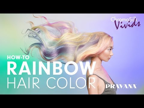 VIVIDS Rainbow Hair Color Technique With Braids | How-To With Shelley Gregory