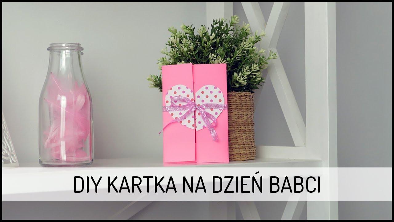 Kartka na Dzień Babci | DIY DOMODI TV