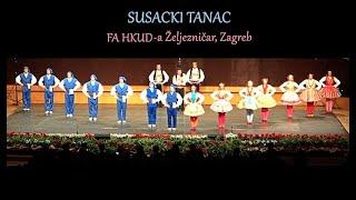 """FA HKUD """"Željezničar"""", Zagreb - """"Susacki tanac"""""""