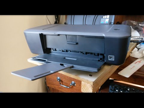 How to clean clogged HP Inkjet printer cartridges.