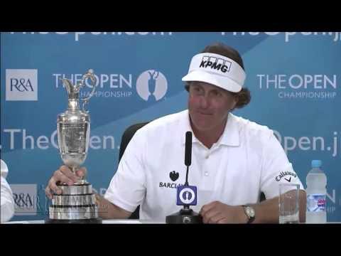 Phil Mickelson: 2013 Open Championship - Winner Part 1