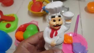 Kids Toy Cooking| Bé tập làm bếp, thi nấu ăn với anh Hai| Đồ chơi trẻ em