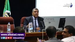 أشرف الشرقاوي: 613 مليون جنيه أرباح 72 شركة قطاع أعمال عام ..فيديو وصور