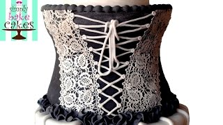 Video Corset cake TUTORIAL download MP3, 3GP, MP4, WEBM, AVI, FLV Juli 2018