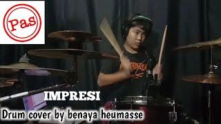Drum cover impresi~pasband at studio @drumben channel