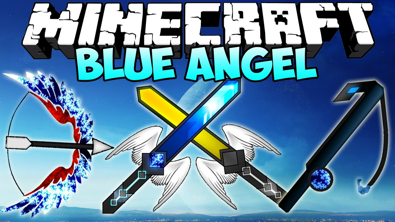 """Minecraft Texture Pack """"BLUE ANGEL PVP PACK"""" Resource Pack ..."""