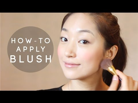 How Youtube How To Apply Blush