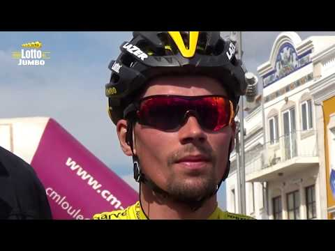 A few days in the life of Primoz Roglic during the Volta ao Algarve
