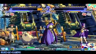 Slice of Gaming - BlazBlue: Continuum Shift II (PSP) Carl Arcade Run (Full)