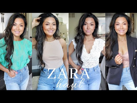 ZARA TRY ON HAUL 2020 | NEW IN SPRING AND SUMMER CLOTHING HAUL |  Spring Fashion | Muy Eve #zara