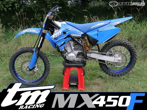 2007 TM Racing MX 450 F Race Test - MotoUSA