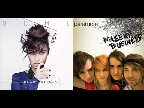 Demi Lovato vs. Paramore - Misery Heart Attack