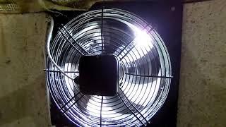 Промышленная вентиляция в крольчатнике