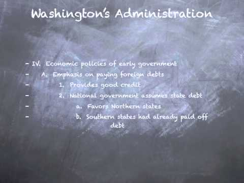 Washington Administration
