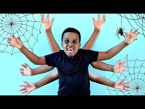 Thumbnail: Bad Baby Shiloh TURNS INTO A SPIDER! - Shasha and Shiloh - Onyx Kids