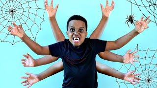 Bad Baby Shiloh TURNS INTO A SPIDER! - Shasha and Shiloh - Onyx Kids