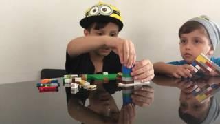 BÊ TV #02 - Benjamim recebe Matias para construir um robô de Lego