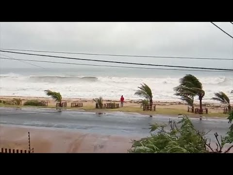 Cyclone Kenneth makes landfall in Mozambique after Comoros