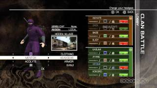 Ninja Gaiden 3 Multiplayer Customization Gameplay Video (PS3, Xbox 360)