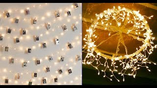 Top 40 Fancy Colorful String Light DIY 2018 | Room Decor In Bedroom or Outdoor Backyard Patio Ideas