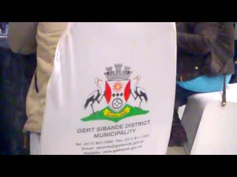 Gert Sibande District   Graduation Of The Dissabled People 2018