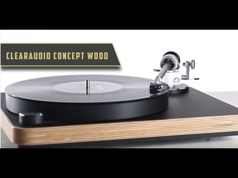 Clearaudio Concept Wood Turntable | Product Features | Bright Audio
