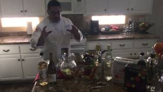 Cocktails From The Kitchen, White Peach Sangria With Eddie Perales