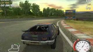 flatout gameplay on radeon 9250 128 mb ddr