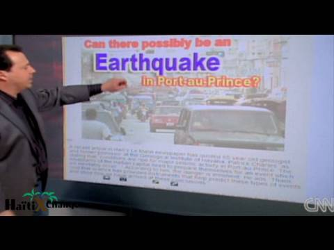 HaitiXchange Reported Earthquake Prediction