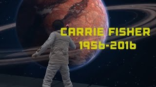 Star Wars Battlefront Carrie Fisher Tribute