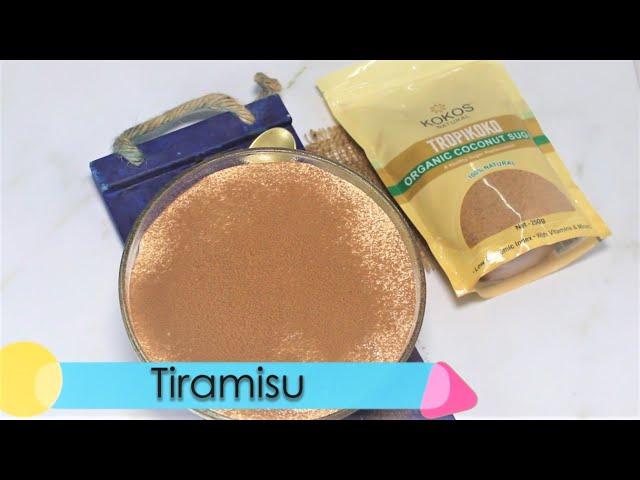 Kokos Natural Coconut Sugar Tiramisu Recipe