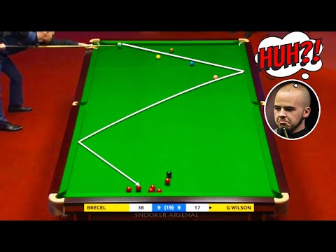 The Greatest Snooker Escapes of All Time Compilation Vol.1