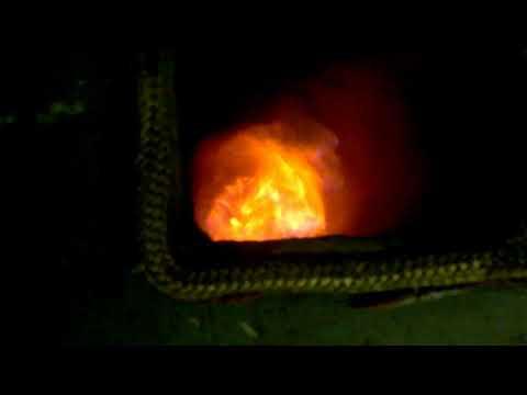 rakétakályha teszt2 pellet+fa