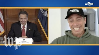 Cuomo brothers continue their comedy routine
