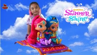 Shimmer and Shine Magical Dress Up Toys Unboxing | Toys Academy