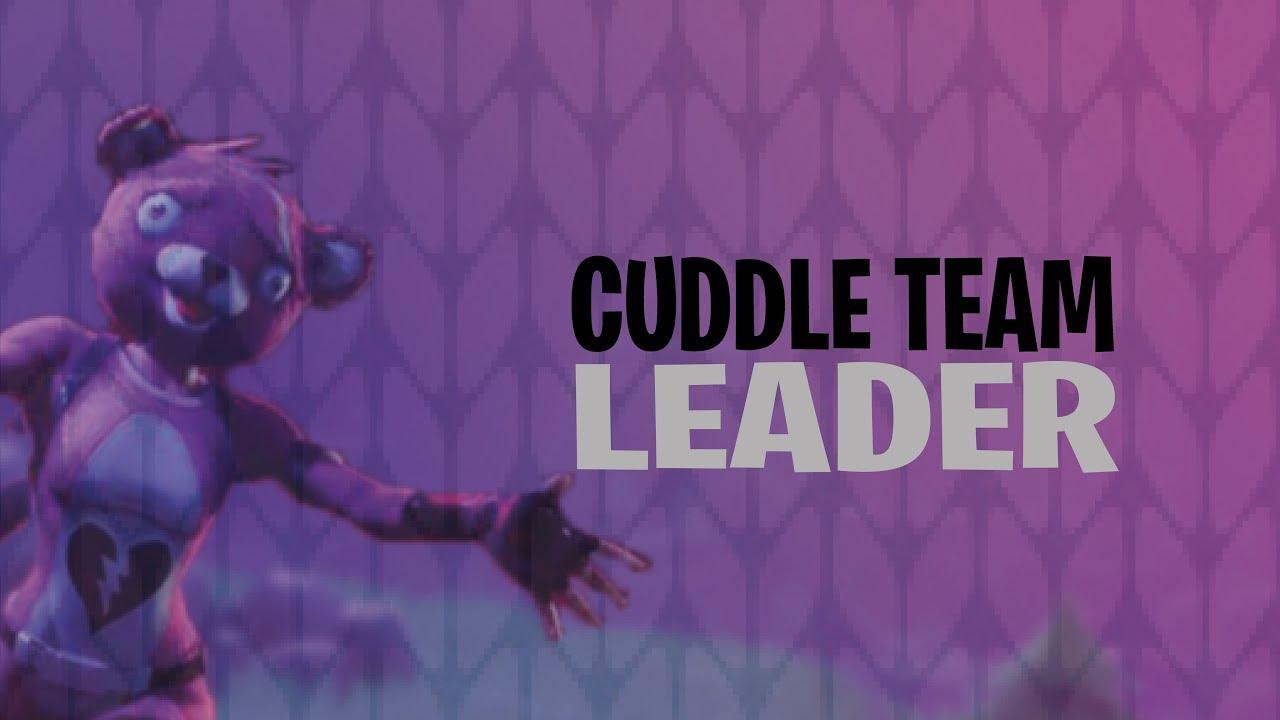 New skin cuddle team leader fortnite battle royale youtube - Cuddle team leader from fortnite ...