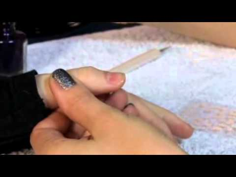 How To Use 3d Nail Art Stickers Youtube