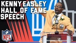 Kenny Easley's Hall of Fame Speech | 2017 Pro Football Hall of Fame | NFL