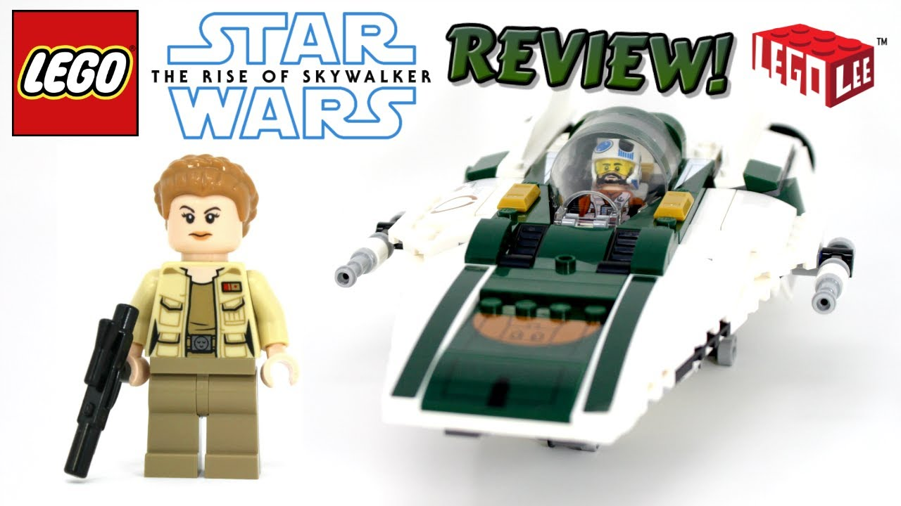 Lego Star Wars The Rise Of Skywalker Review Resistance A Wing Starfighter Set 75248 Youtube