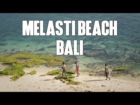 Melasti Beach Bali - Hidden Beach Become Popular
