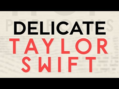 Delicate - Taylor Swift cover by Molotov Cocktail Piano