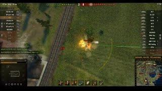 Подборка WoT видео: арта САУ T92 стреляет бронебойными