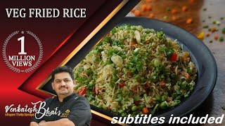 venkatesh bhat makes veg fried rice | Veg Fried Rice | Fried Rice recipe| vegetable fried rice