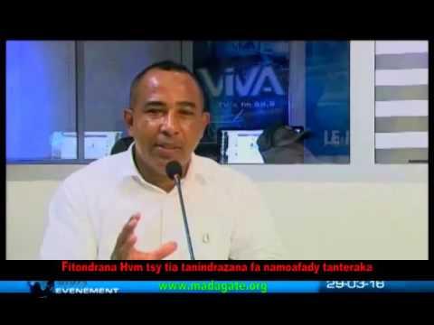 Sénateur Lylison Viva TV 29 mars 2016