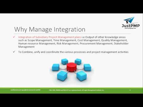 What is Project Integration Management   PMP Chapter 4   PMBOK   PMP Exam Notes