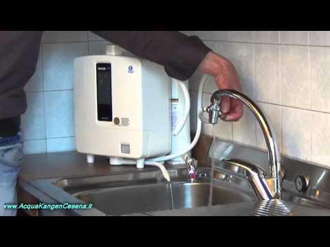 Montaggio e Funzioni - K8 acqua kangen