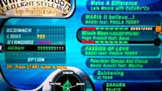Dance Dance Revolution Extreme 2 COMPLETE Songlist Resimi